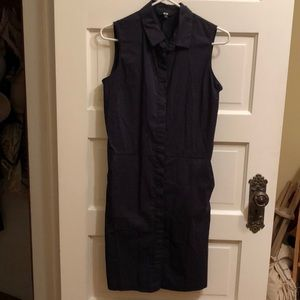 Uniqlo navy dress size S